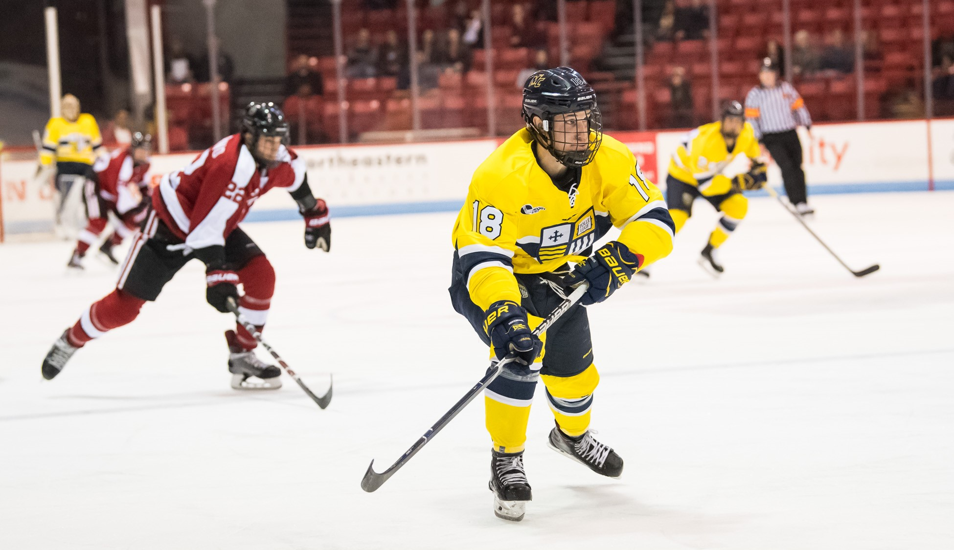 Image result for northeastern merrimack hockey