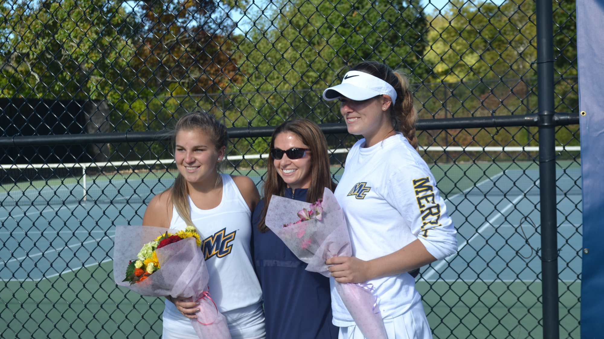 Women s Tennis Celebrates Senior Day with 6-3 Victory vs. Saint Anselm  Friday 21ccab803726