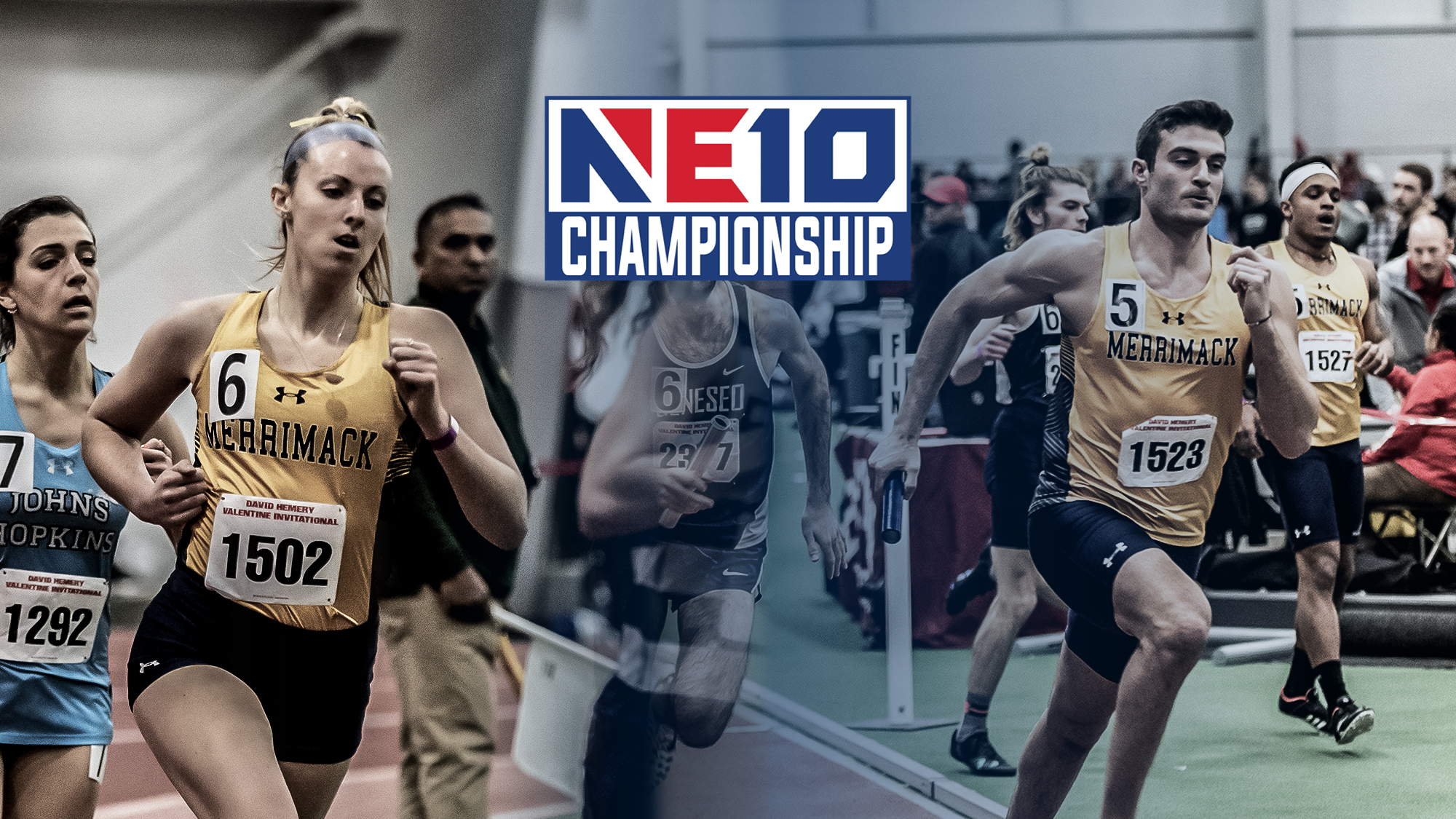 NE10 Indoor Track & Field Coaches' Polls Released